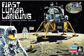 Apollo First Lunar Landing - 2019 reissue 1/48 scale from Revell-Monogram